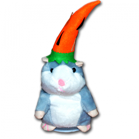 Jucarie Interactiva Copii Hamsterul Vorbitor, Editie de Paste, Gri [5]