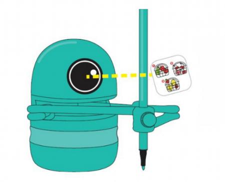 Jucarie Interactiva Electronica Robotelul Inteligent Quincy, SMARTIC®, verde7