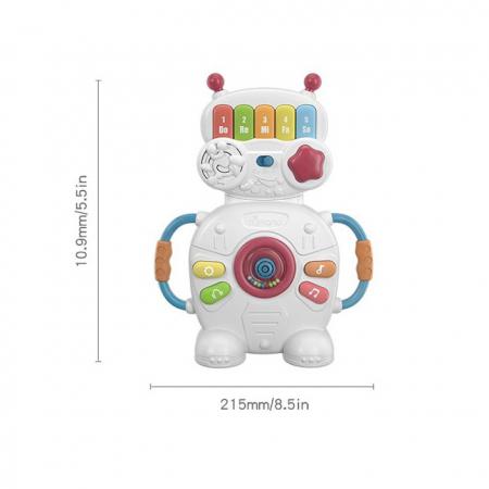 Jucarie muzicala educativa Robotelul Magic Tumama®, pentru copii si bebelusi9