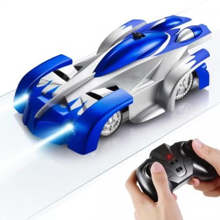 Masinuta Magic Car, Smartic, urca pe tavan, perete, fereastra si podea, +3 ani, albastru1