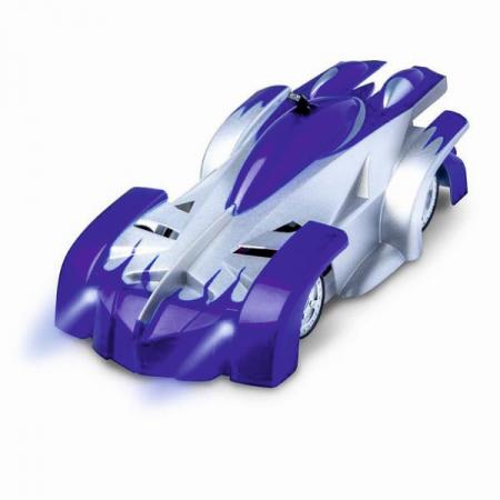 Masinuta Magic Car, Smartic, urca pe tavan, perete, fereastra si podea, +3 ani, albastru0