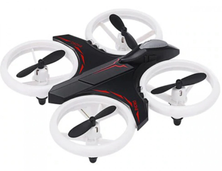 Mini drona cu semnale luminoase LED, Functii 3D , Mentinerea altitudinii si telecomanda5