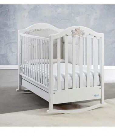 Saltea pentru bebelusi si copii Editia Lux cu Fibra Cocos si Latex 140x70x11 cm, Husa Bumbac, Lavabila, Antialergica, Alb [8]