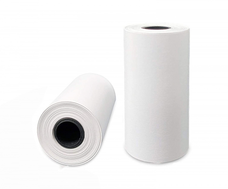 Set 5 role rezerva din hartie termica, compatibile cu Aparat Foto Instant, 55x25 mm, Smartic®, alb [3]
