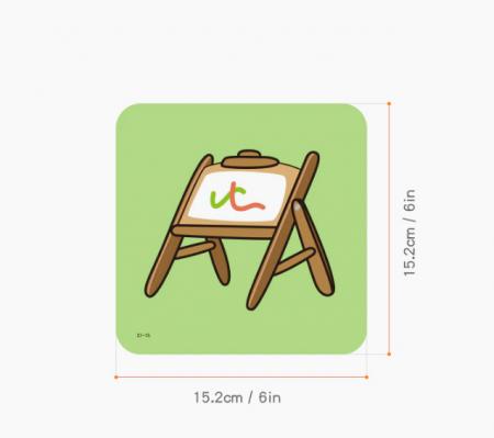 Set cartonase asociere 2 in 1 Tumama® pentru bebelusi si copii, Material Carton,Ilustratii animale, fructe, legume, 40 piese, alb/negru [8]