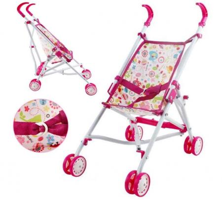 Set copii interactiv cu papusa bebelus si accesorii: tarc, carucior, suport bebe, geanta, covoras, SMARTIC®, multicolor2