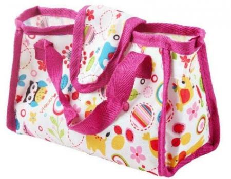 Set copii interactiv cu papusa bebelus si accesorii: tarc, carucior, suport bebe, geanta, covoras, SMARTIC®, multicolor3