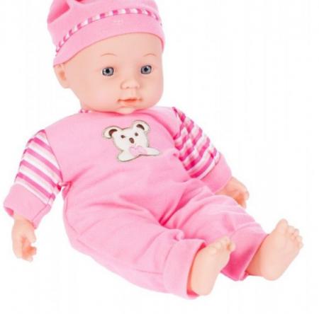 Set copii interactiv cu papusa bebelus si accesorii: tarc, carucior, suport bebe, geanta, covoras, SMARTIC®, multicolor5