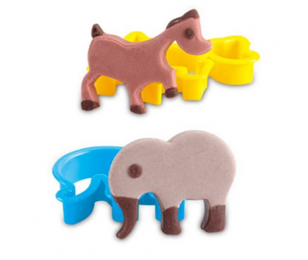 Set plastilina My little animals, SMARTIC®, cu accesorii, multicolor [5]