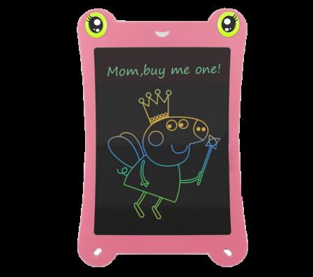 Tableta Grafica pentru Copii, SMARTIC, 8.5 inch, model Broscuta, Roz0