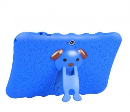 "Tableta portabila pentru copii, Display 7"" Quad-Core Android 10, Wi-Fi, Bluetooth 4.0, 1GB RAM, 8G ROM, HD Dual Camera, Touch Screen, Smartic®, albastru [3]"
