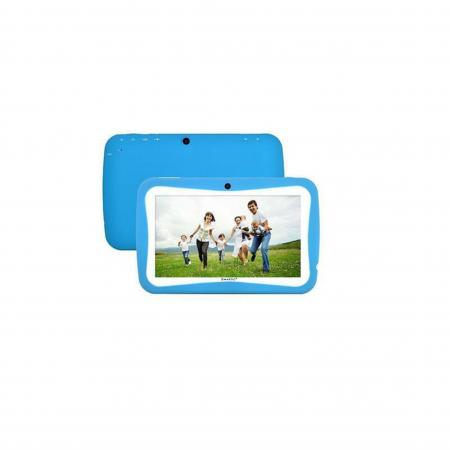 "Tableta portabila pentru copii, Display 7"" Quad-Core Android 10, Wi-Fi, Bluetooth 4.0, 1GB RAM, 8G ROM, HD Dual Camera, Touch Screen, Smartic®, albastru [8]"