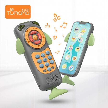 Telefon muzical interactiv Tumama® cu peste 100 de sunete educative pentru copii, negru5