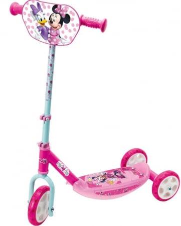 Trotineta copii cu 3 roti, design Minnie Mouse SMARTIC®, roz0