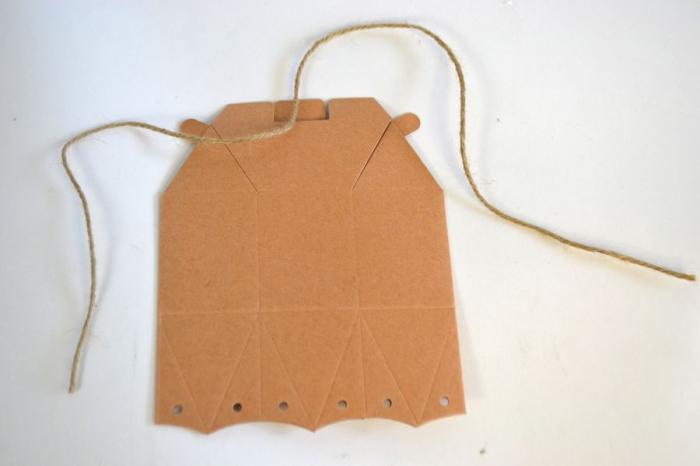 Cutiuta hexagonala din carton 8 x 10 cm [2]