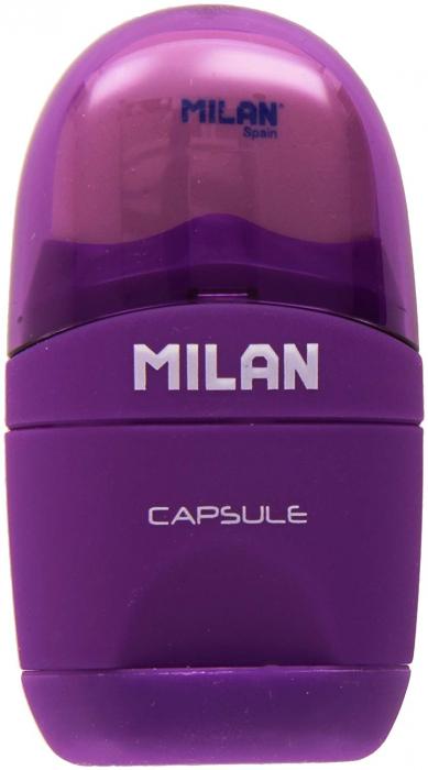 Ascutitoare cu radiera ovala Capsule Milan [2]
