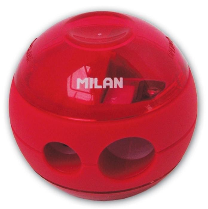 Ascutitoare plastic dubla cu container Sphere Milan 0