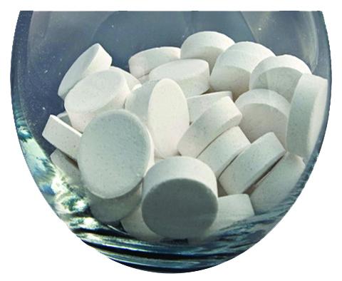 Biclosol tablete clor efervescente, 300tab/cut [1]