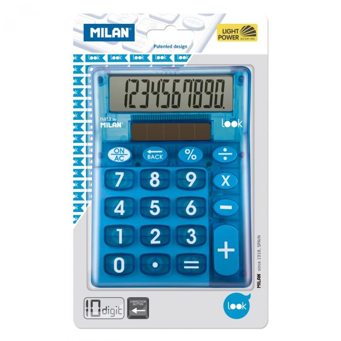 CALCULATOR 10 DG MILAN LOOK 906LKBBL [1]
