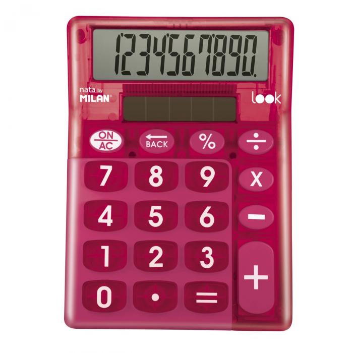 CALCULATOR 10 DG MILAN LOOK 906LKPBL 0