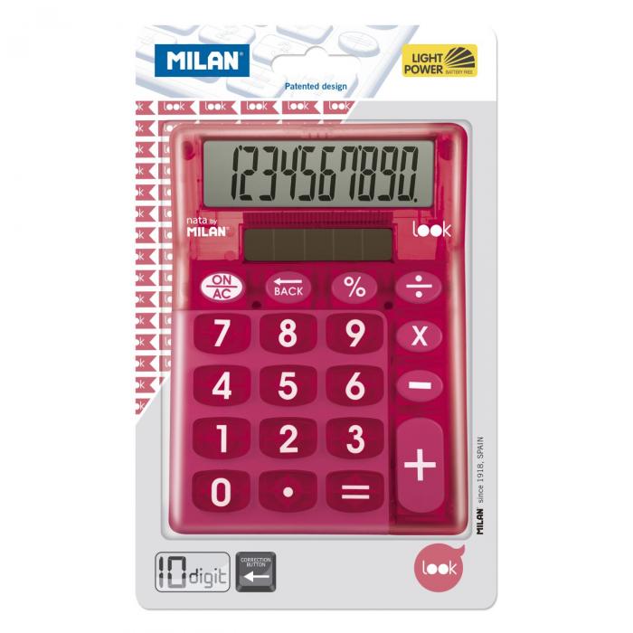 CALCULATOR 10 DG MILAN LOOK 906LKPBL 1