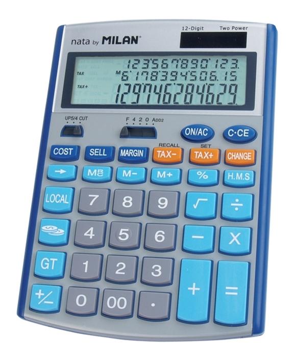 CALCULATOR 12 DG MILAN 153512B [0]