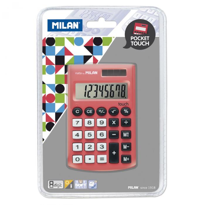 CALCULATOR 8 DG MILAN 150908RBL [0]