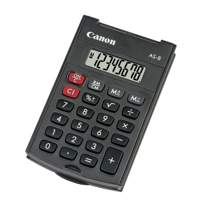 CANON AS8 HANDHELD CALCULATOR 8DIG [0]