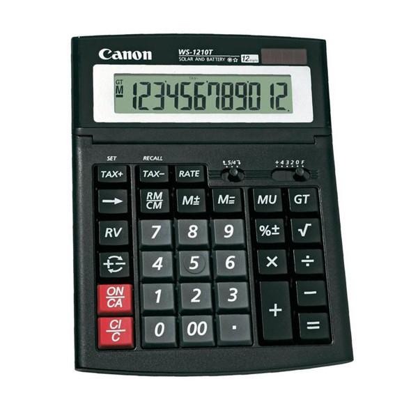 CANON WS1210T CALCULATOR DESKT 12DIG [0]