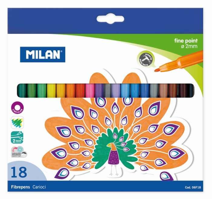 Carioca 18 culori Milan [0]