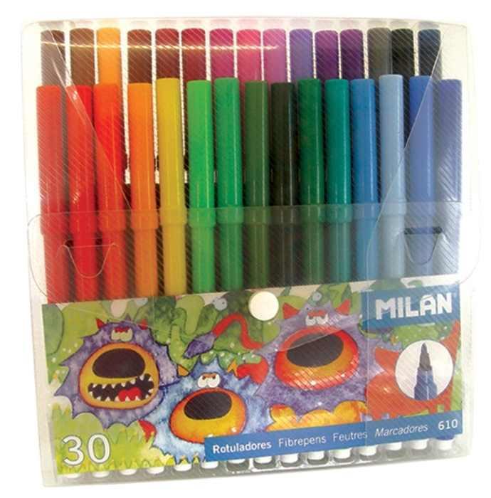 Carioca 30 culori vârf conic Milan [0]