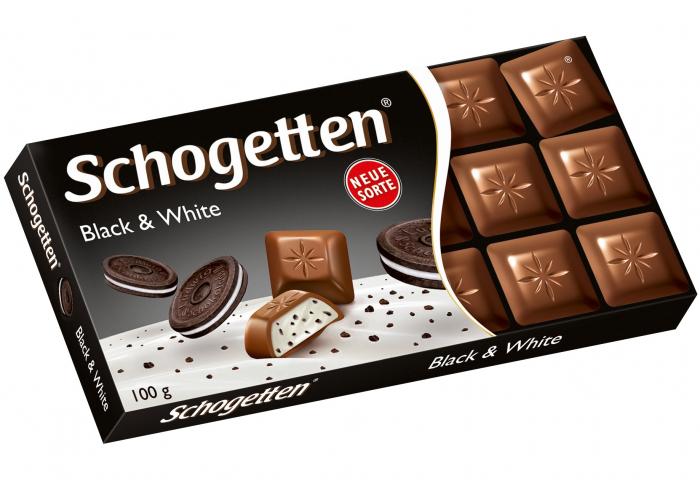 Ciocolata Schogetten Black & White 100g [0]