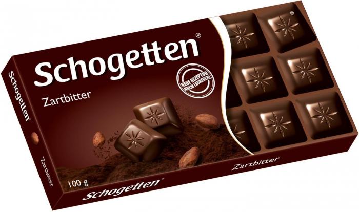 Ciocolata Schogetten Dark 100g [0]