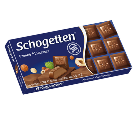 Ciocolata Schogetten Noisettes 100g [0]
