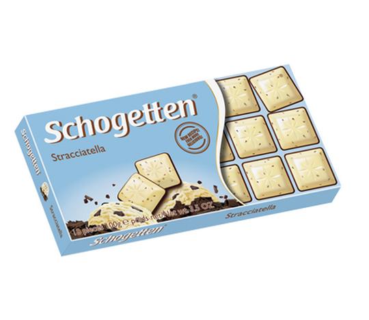 Ciocolata Schogetten Stracciatella 100g [0]