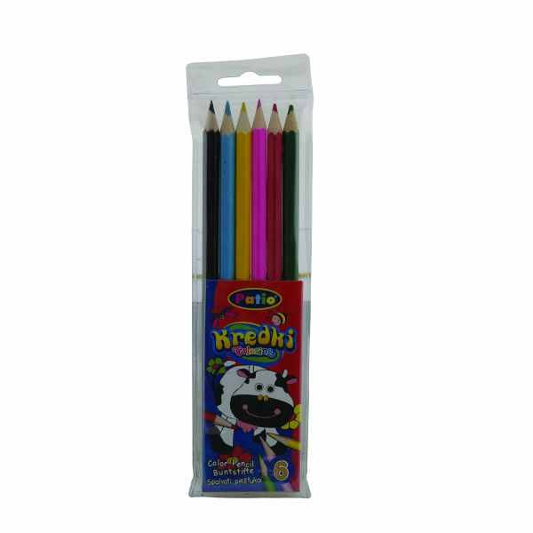 Creioane color 6/set Patio 0