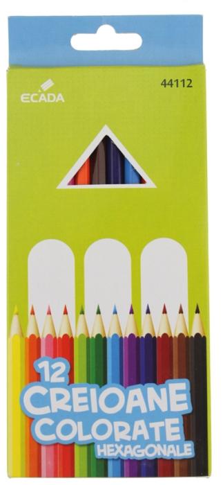 Creion color 12 culori Ecada [0]