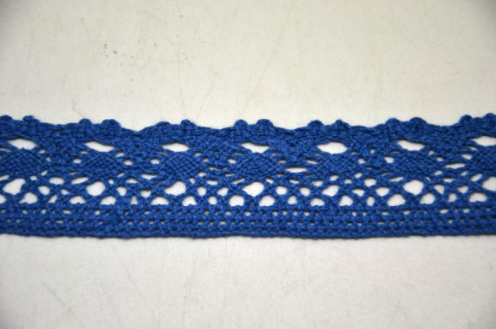 Dantela albastra 3 cm latime- 371847 [0]