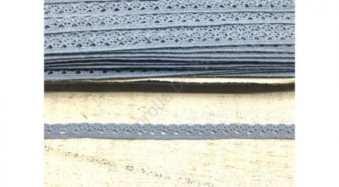 Dantela albastru antic- 1m/1cm- 0094 [0]