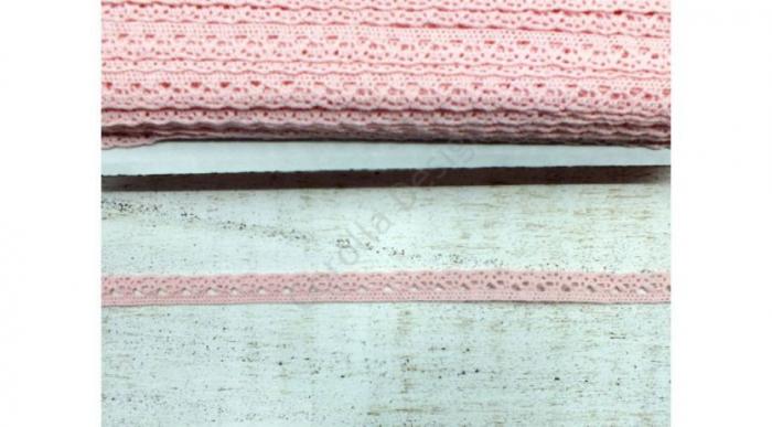Dantela baby pink -1m/1cm- 0094 [0]