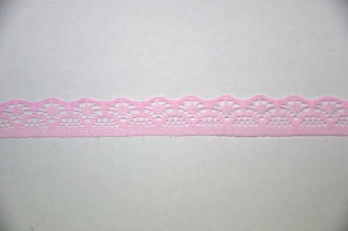 Dantela din nilon roz pal-20m/ 2cm-372664 [0]