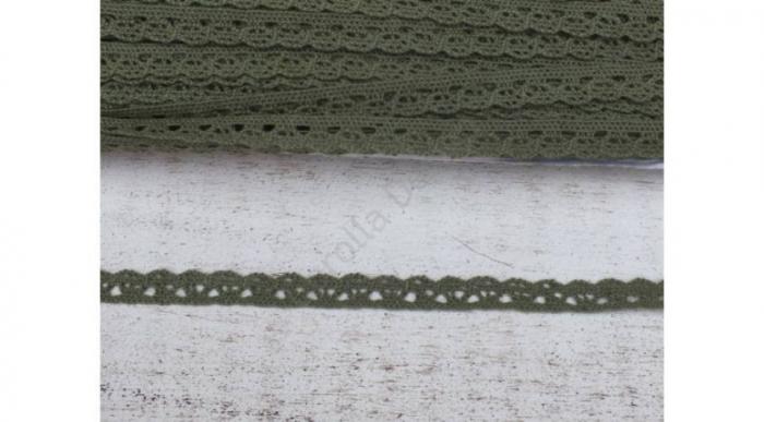 Dantela kaki- 1m/1cm- 0094 [0]