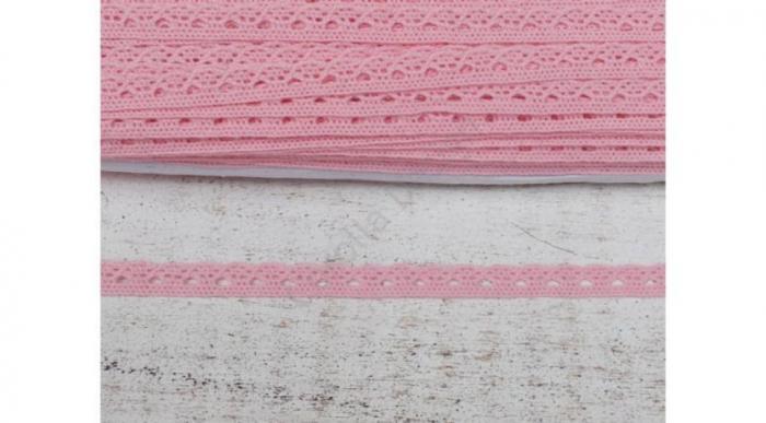 Dantela roz Pompadour- 1m/1cm- 0094 [0]