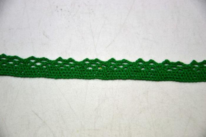 Dantela verde 1 cm latime- 371806 0