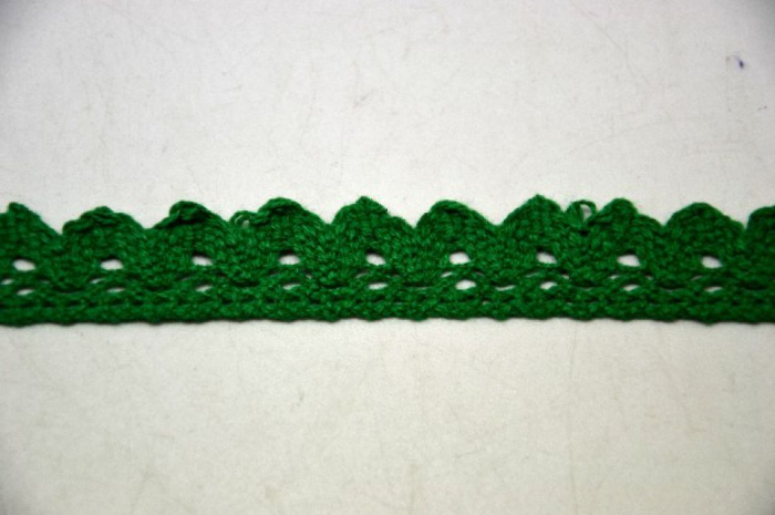 Dantela verde 2 cm latime- 371856 0