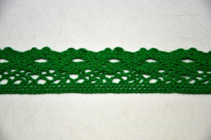 Dantela verde 3 cm latime- 371846 0