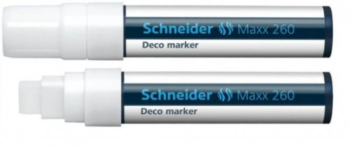 Deco marker tip creta  Schneider 260 - varf 2-15mm 3