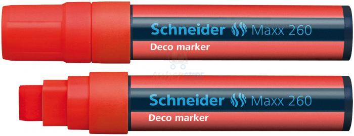 Deco marker tip creta  Schneider 260 - varf 2-15mm 4
