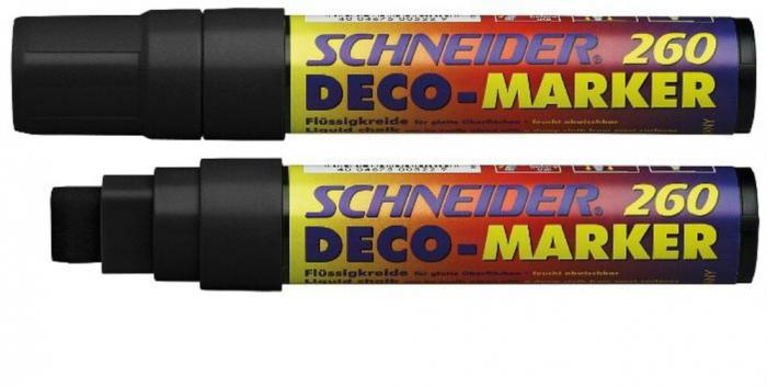 Deco marker tip creta  Schneider 260 - varf 2-15mm 7