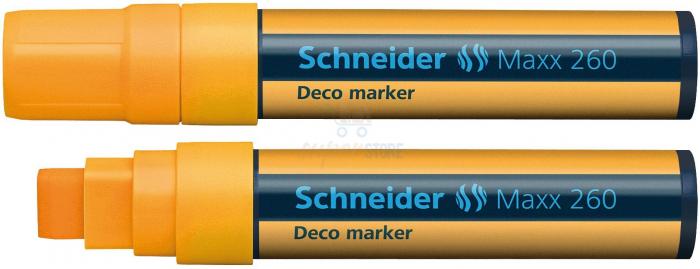 Deco marker tip creta  Schneider 260 - varf 2-15mm 5